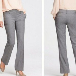 The Limited Gray Drew Fit Low Rise Dress Pants